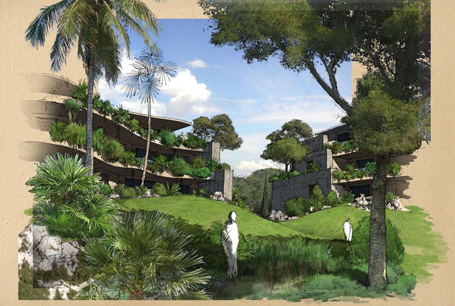 <strong>Projet de logements &#8211; Meze<span><b>dans</b>Etudes/Concours  Logements  </span></strong><i>&rarr;</i>